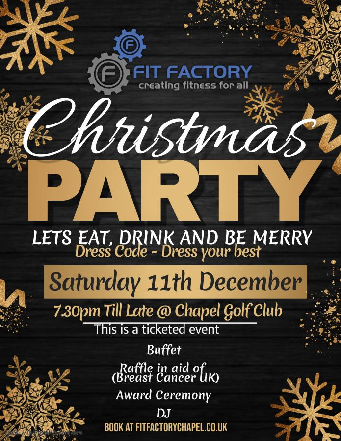 Fit Factory Chapel Christmas Party